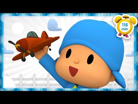 ✈️ POCOYÓ en ESPAÑOL - Aviones de juguete [118 min]   CARICATURAS y DIBUJOS ANIMADOS para niños