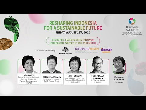 SAFE Forum 2020: Economic Sustainability Pathway: Indonesian Women in the Workforce