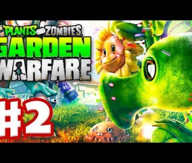 Plants Vs Zombies Garden Warfare Gameplay Walkthrough Part  Welcome Mat Xbox One