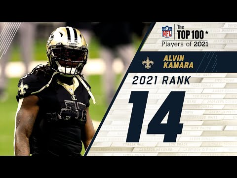 #14 Alvin Kamara (RB, Saints) | Top 100 Players in 2021