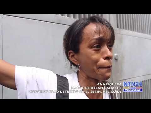 Madre del preso político (menor de edad) Dylan Canache exige su liberación