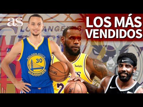 El top 10 de camisetas NBA más vendidas en 2019: LeBron, Doncic, Curry... | AS
