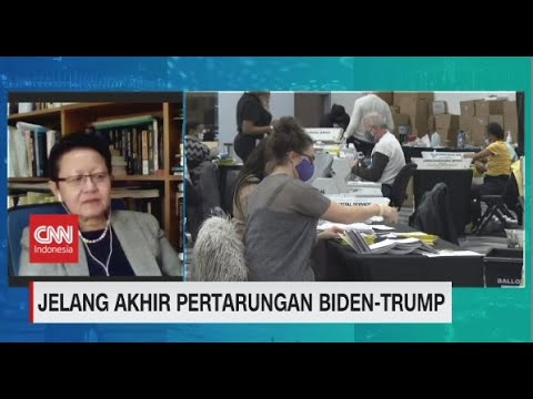 Jelang Akhir Pertarungan Biden-Trump