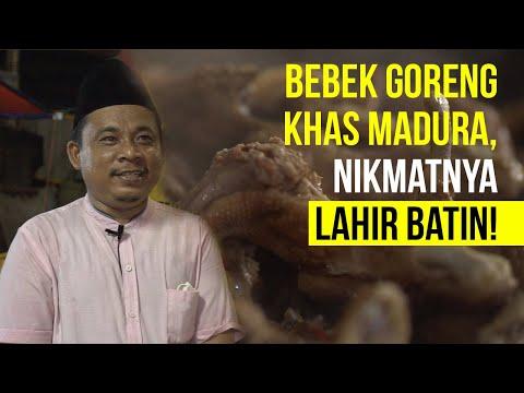 SEKITAR KITA - Bebek Goreng Khas Madura, Nikmatnya Lahir Batin!