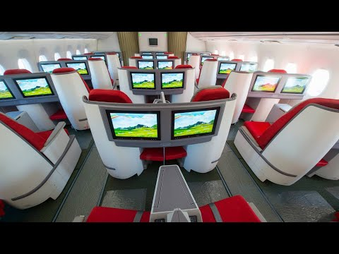 Ethiopian Airlines Boeing 787 Dreamliner Business Class - Brussels to Addis Ababa