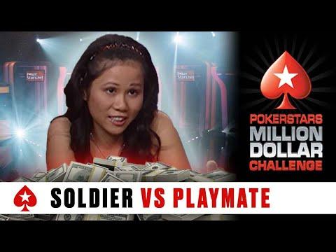 Throwback: Million Dollar Challenge S1 ♠️ E2 ♠️  Soldier vs Jayde Nicole ♠️ PokerStars Global