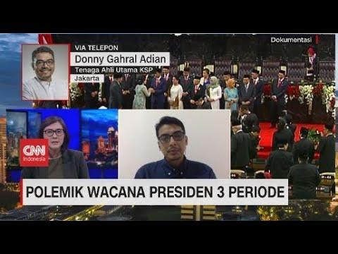 Polemik Wacana Presiden 3 Periode