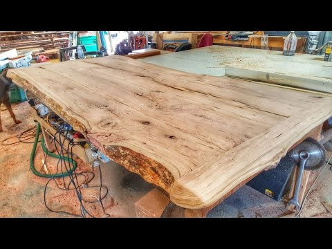 Making a Cherry Wood Table from a Log  Racerlt