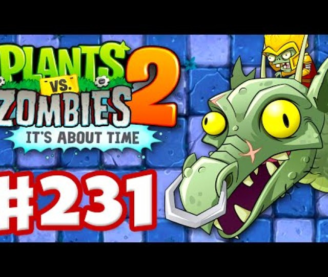 Plants Vs Zombies  Its About Time Gameplay Walkthrough Part  Zomboss Dragon Fight Ios