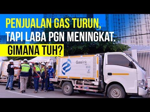 Penjualan Gas Turun, tapi Laba PGN Meningkat. Gimana Tuh?