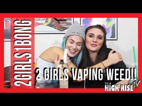 2 Girls Vaping Weed