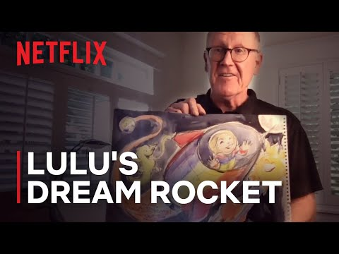 Over The Moon Director Glen Keane Illustrates Girl's Dream Rocket | Netflix