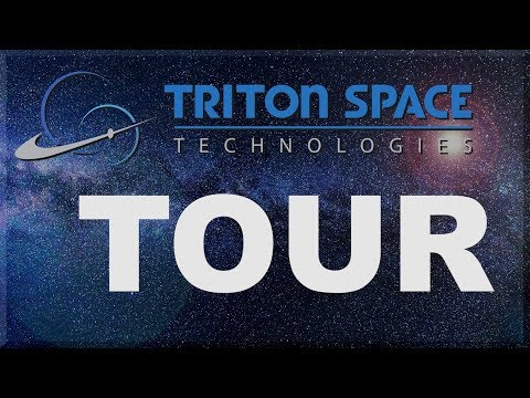 Machine Shop Tour: Triton Space Technologies!