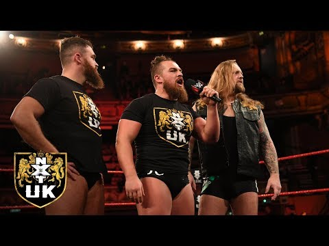 Gallus vows to decimate British Strong Style and the reign of Pete Dunne: NXT UK, Jan. 9, 2019