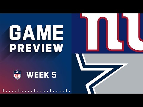 New York Giants vs. Dallas Cowboys   Week 5 NFL Game Preview