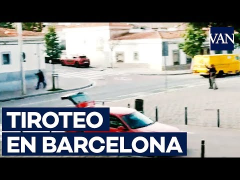Tiroteo en Barcelona