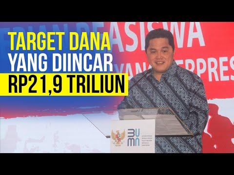 Erick Thohir Targetkan 2 BUMN Go Public, Butuh Dana Rp21,9 Triliun