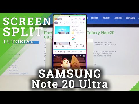 How to Split Screen in SAMSUNG Galaxy Note 20 Ultra – Double Screen Feature