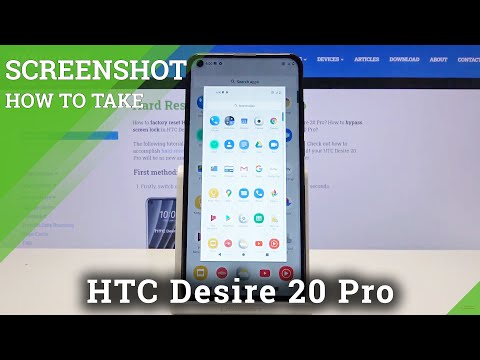 How to Take Screenshot in HTC Desire 20 Pro – Capture Screen Methods