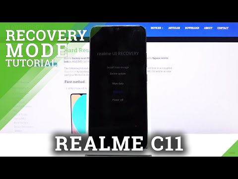 How to Enter Recovery Mode in REALME C11