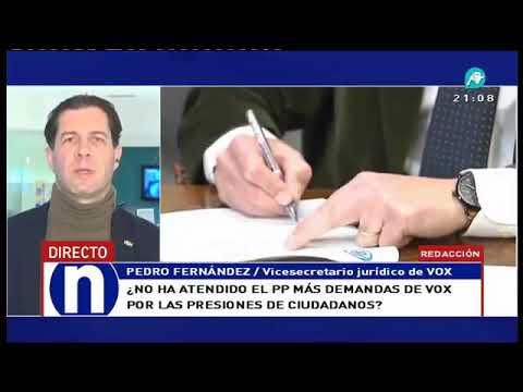 VOX acusa a Ciudadanos de recibir instrucciones de Macron