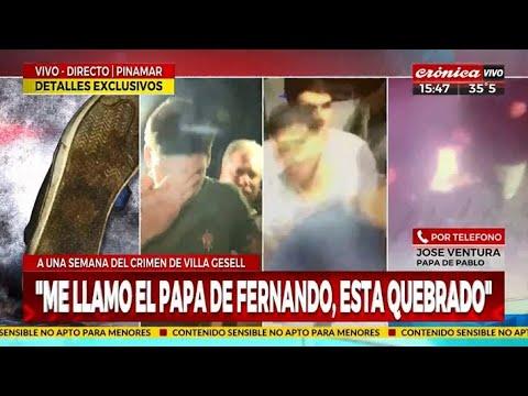 """""""Me llamó el papá de Fernando, está quebrado"""""""