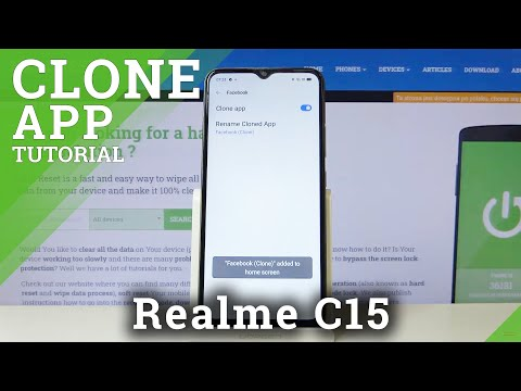 How to Clone Apps in REALME C15 – Duplicate Apps