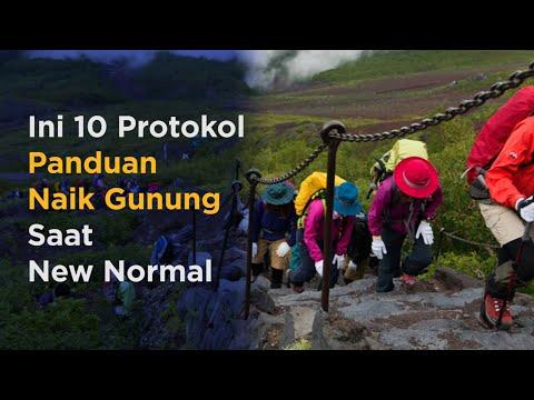 10 Protokol Panduan Naik Gunung Saat New Normal