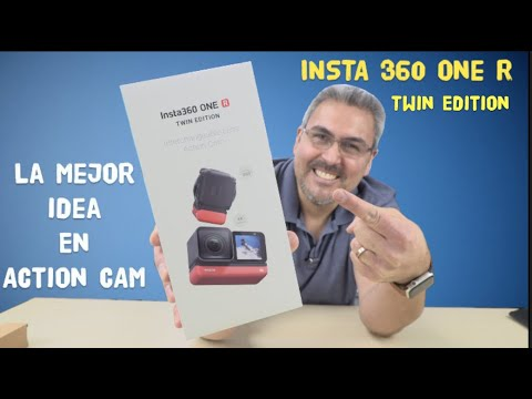 UNBOXING Insta 360 One R TWIN EDITION MODULAR La MEJOR IDEA en ACTION CAM