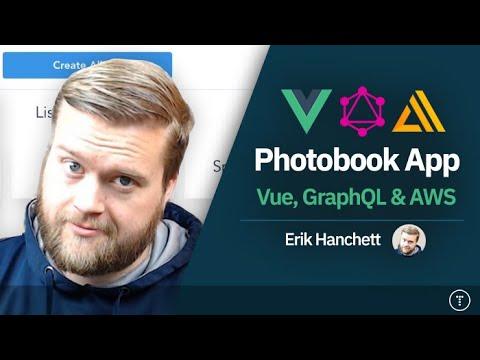 Full Stack Photobook App | Vue, GraphQL, AWS Amplify