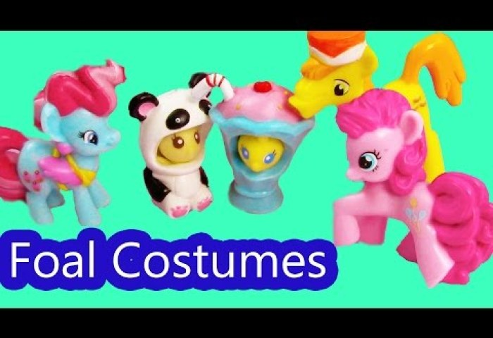 Mlp Foal Halloween Costumes Cake Family My Little Pony Pinkie Pie