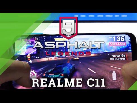 Asphalt 9 on REALME C11 – Gameplay
