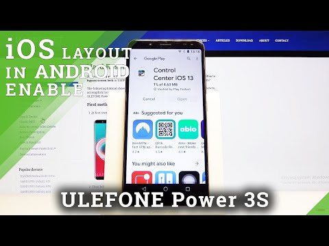 How to Install iOS Launcher in Ulefone Power 3s - Download Apple Layout