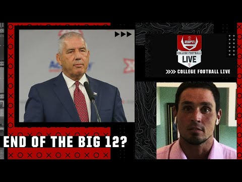 'This is the beginning of the end for the Big 12' - David Pollack | College Football Live