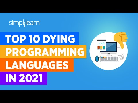 Top 10 Dying Programming Languages In 2021 | Worst Programming Languages In 2021 | Simplilearn