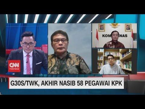 """G30S/TWK, Eks Pegawai KPK: Kami Ingin Pemerintah Cabut Stigma """"Merah"""" ke-57 Pegawai"""