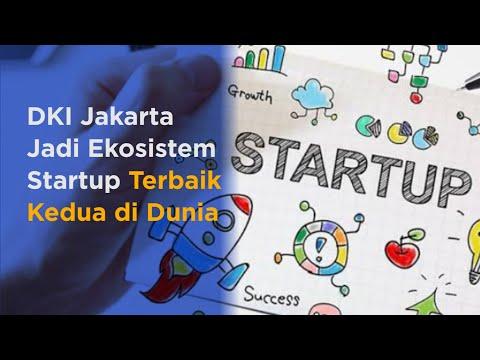 DKI Jakarta Jadi Ekosistem Startup Terbaik Kedua di Dunia
