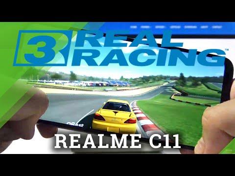 Real Racing Gameplay on REALME C11 – Quality Checkup