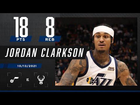 Jordan Clarkson goes for 18 PTS & 8 REB against Bucks