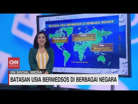 Batasan Usia Bermedsos di Berbagai Negara