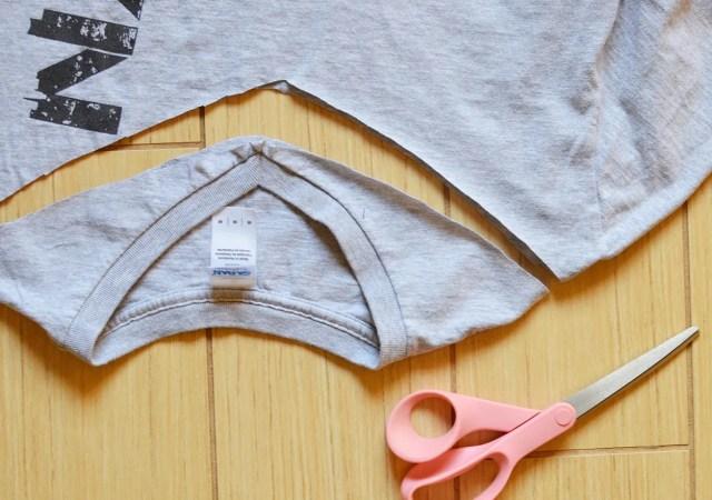 Knotted Tshirt DIY