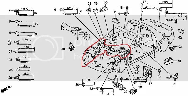 honda civic engine diagram wiring harness wiring diagram wiring