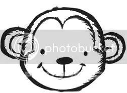 Monkey Head Template