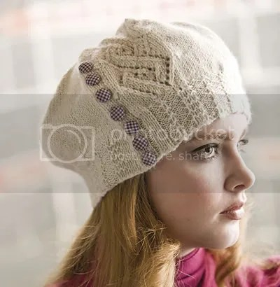 argyle lace hat