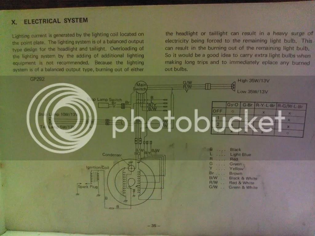 Diagram Of Bull Yamaha 292 Wiring Diagram