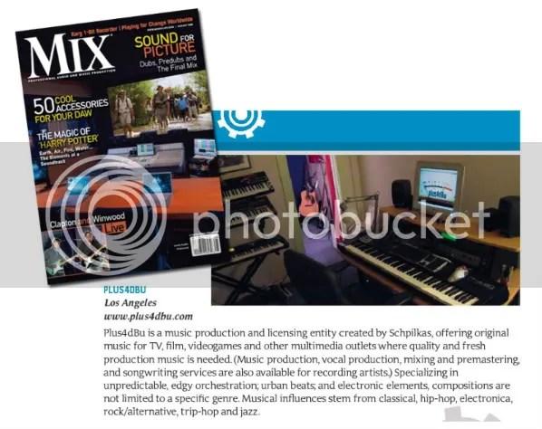 Mix Magazine August 2009