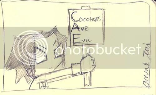 Coconuts Are Evil