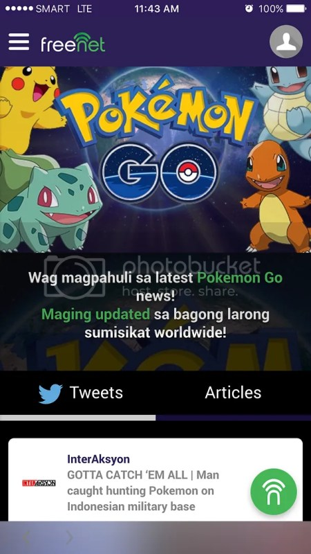 Pokemon GO Updates on freenet