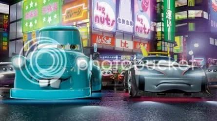 TOKYO MATER. Escena del corto 3D dirigido por John Lasseter.