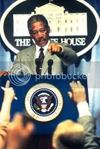 Morgan Freeman, ficción.
